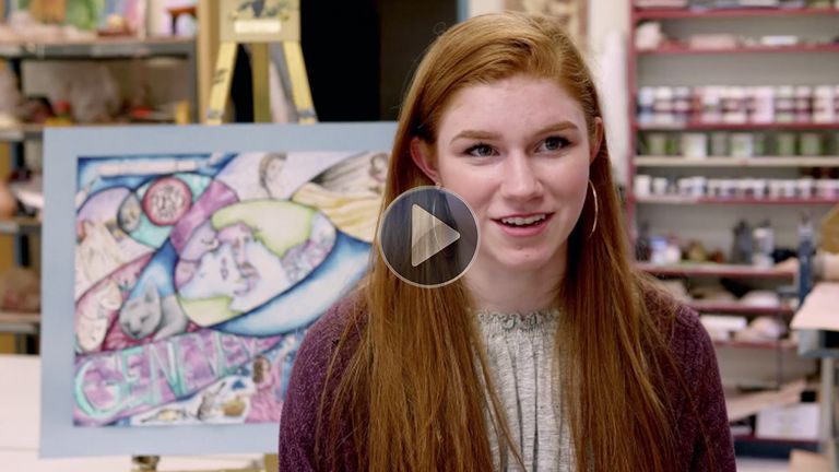 Profile of an Artist: Genevieve Beatty '20