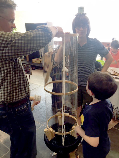 CDS Participates in Asheville Mini-Maker Faire