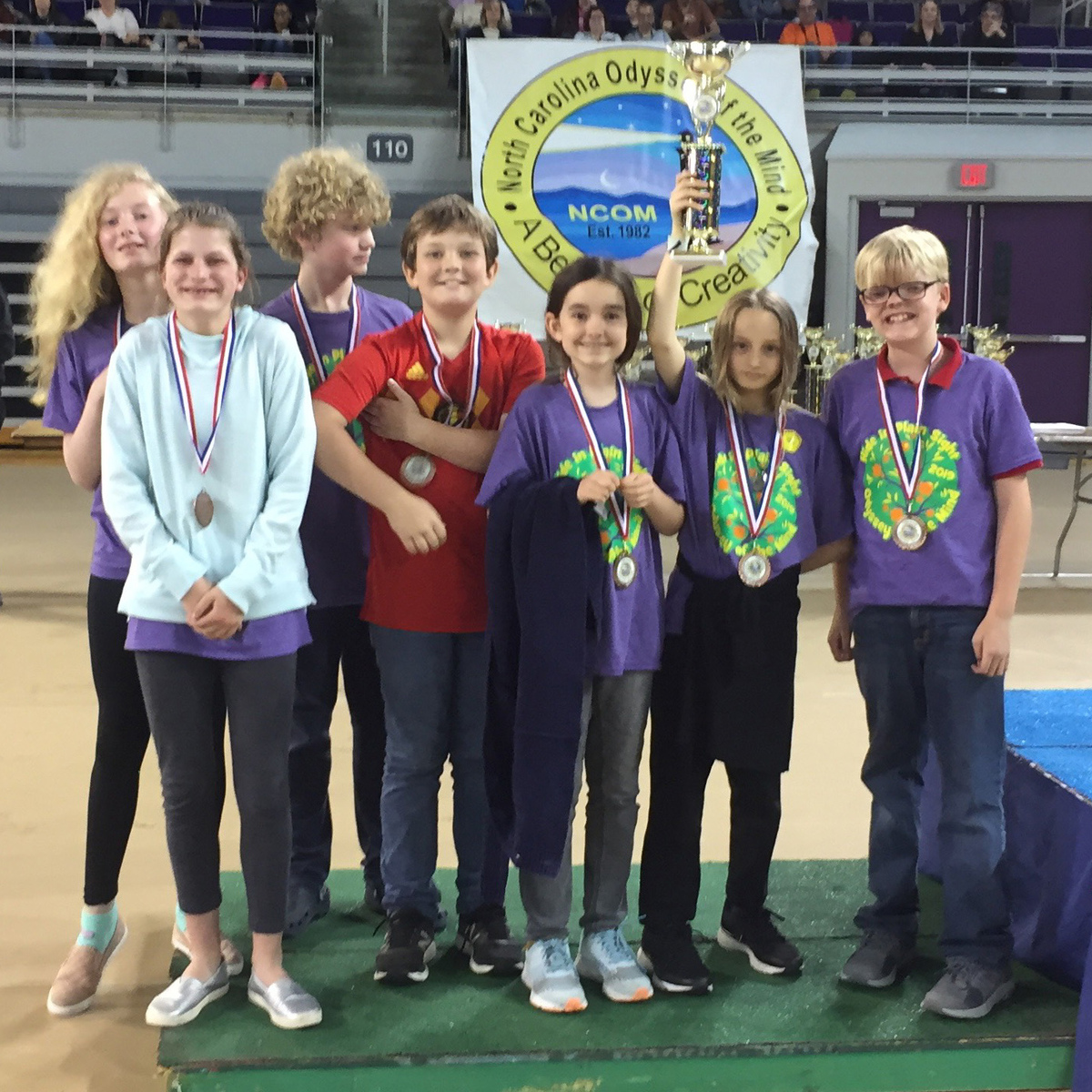 Carolina Day Team Earns 3rd Place at Odyssey of the Mind State Finals