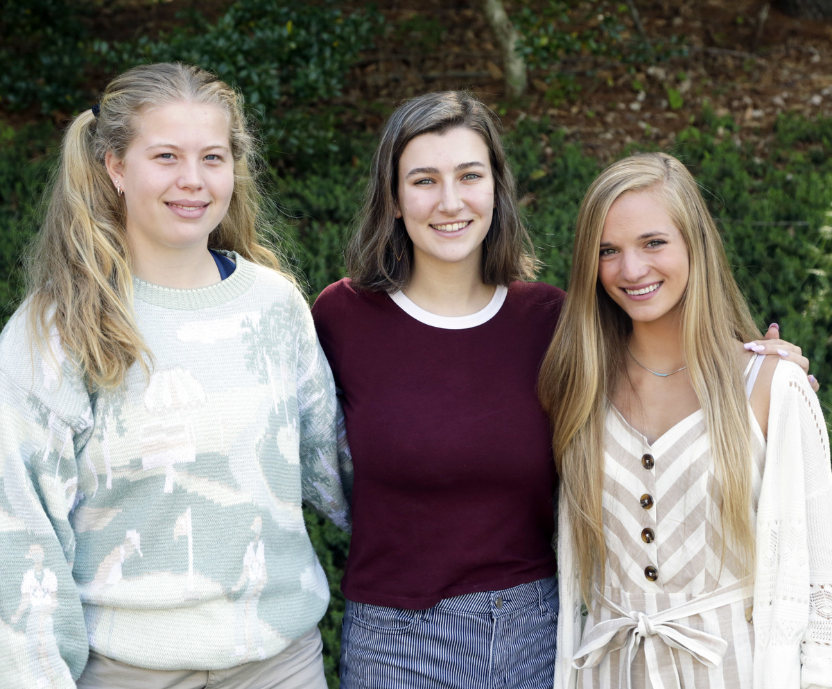 Three Seniors Invited to NC Governor's School