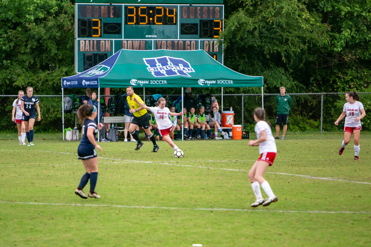 Carolina Day Girls Soccer Advances to Semifinals Following High Point Christian Academy Upset