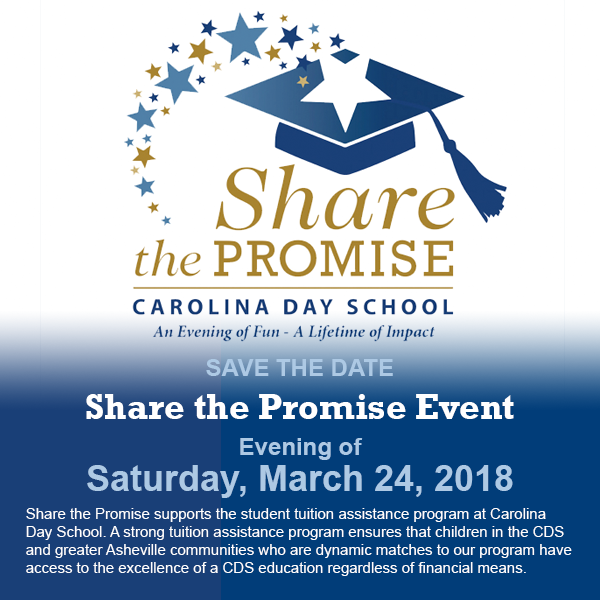 Save the date for Share the Promise