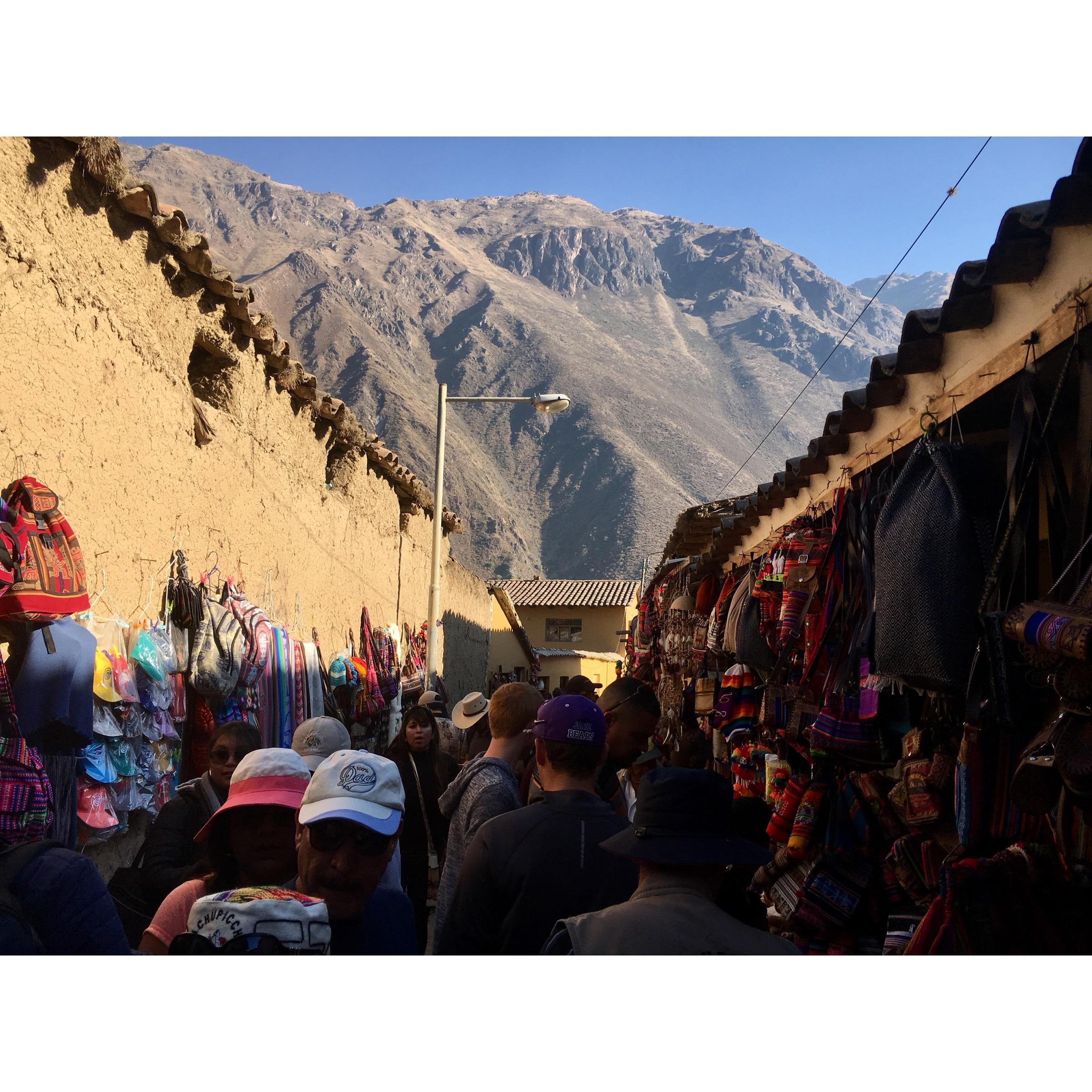 Carson in Peru